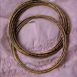 Vintage Connected Gold Bracelet